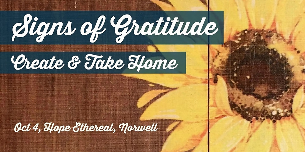 Signs of Gratitude with Marianne & Marsha
