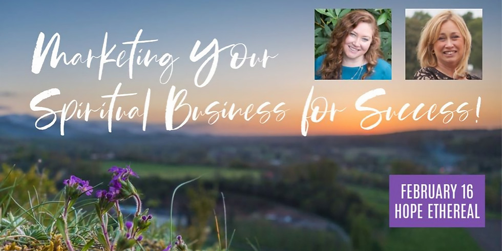 Marketing Your Spiritual Business for Success