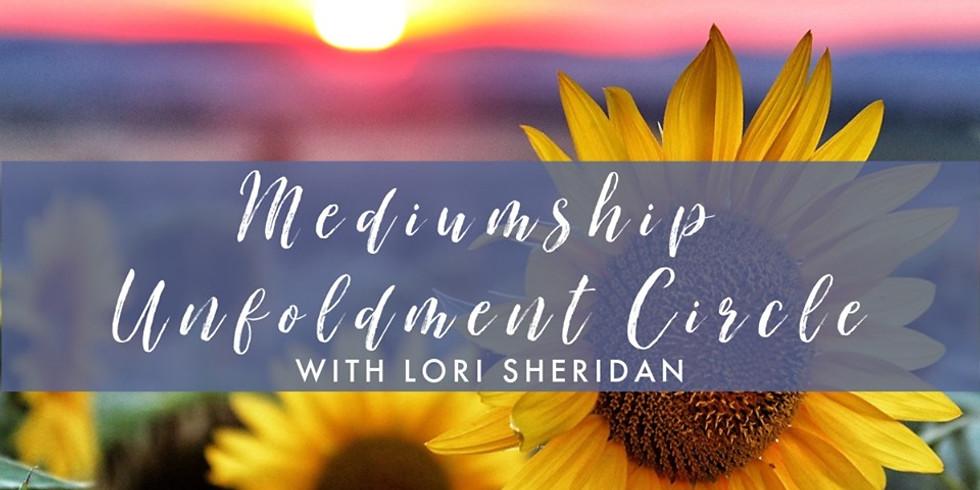 Mediumship Unfoldment Circle with Lori Sheridan (1)