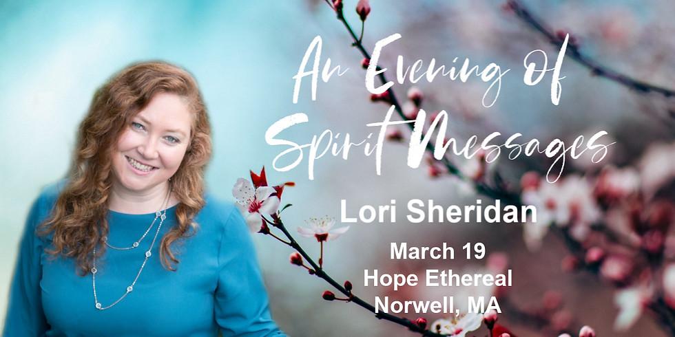 Spirit Messages with Lori Sheridan