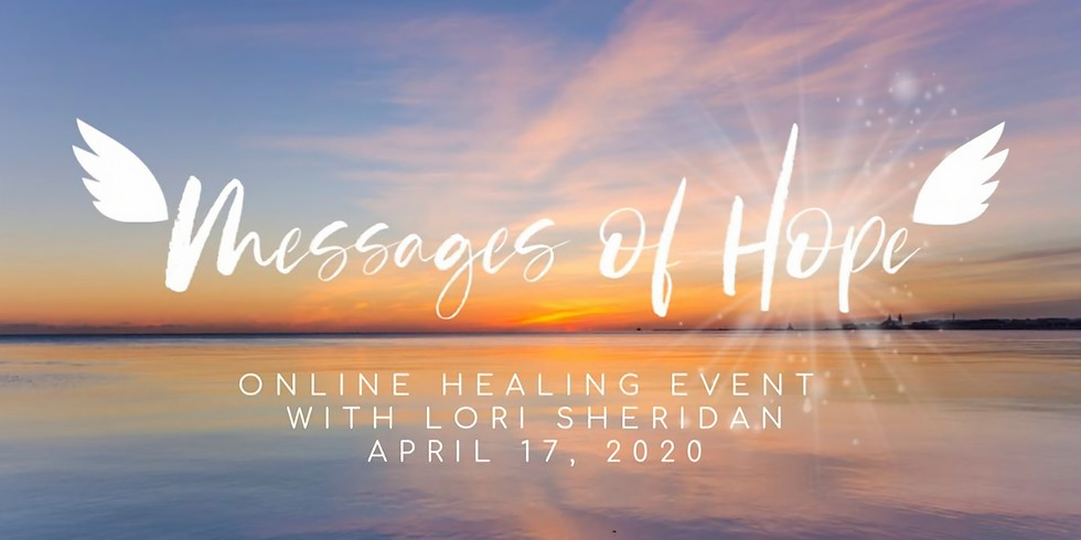 Messages of Hope Online with Lori Sheridan
