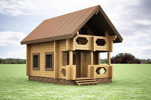 Дом на дачу №4