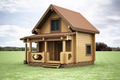 Дом на дачу №1