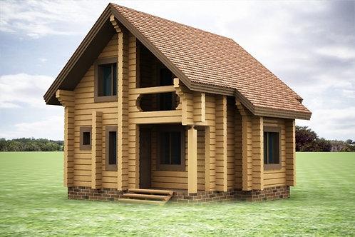 Дом на дачу №9