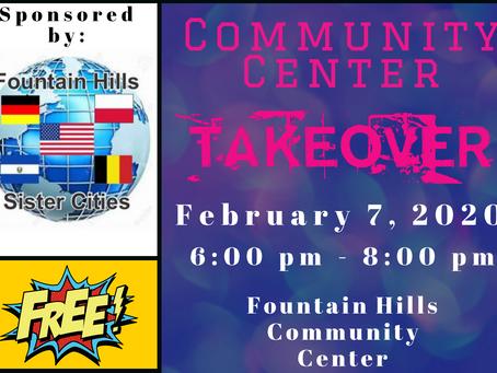 Community Center Takeover