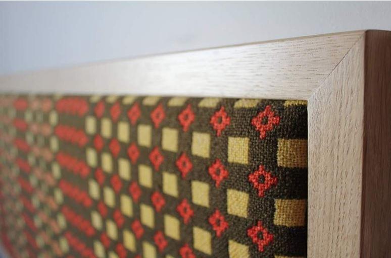 Headboard - Welsh Blanket