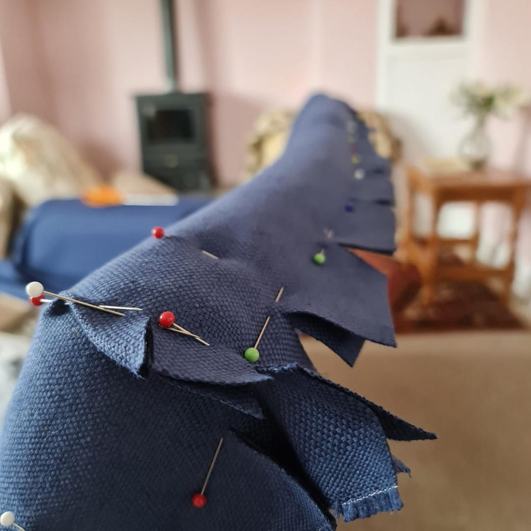 Warwick fabric loose cover