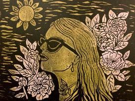 Sun FlowersWoman