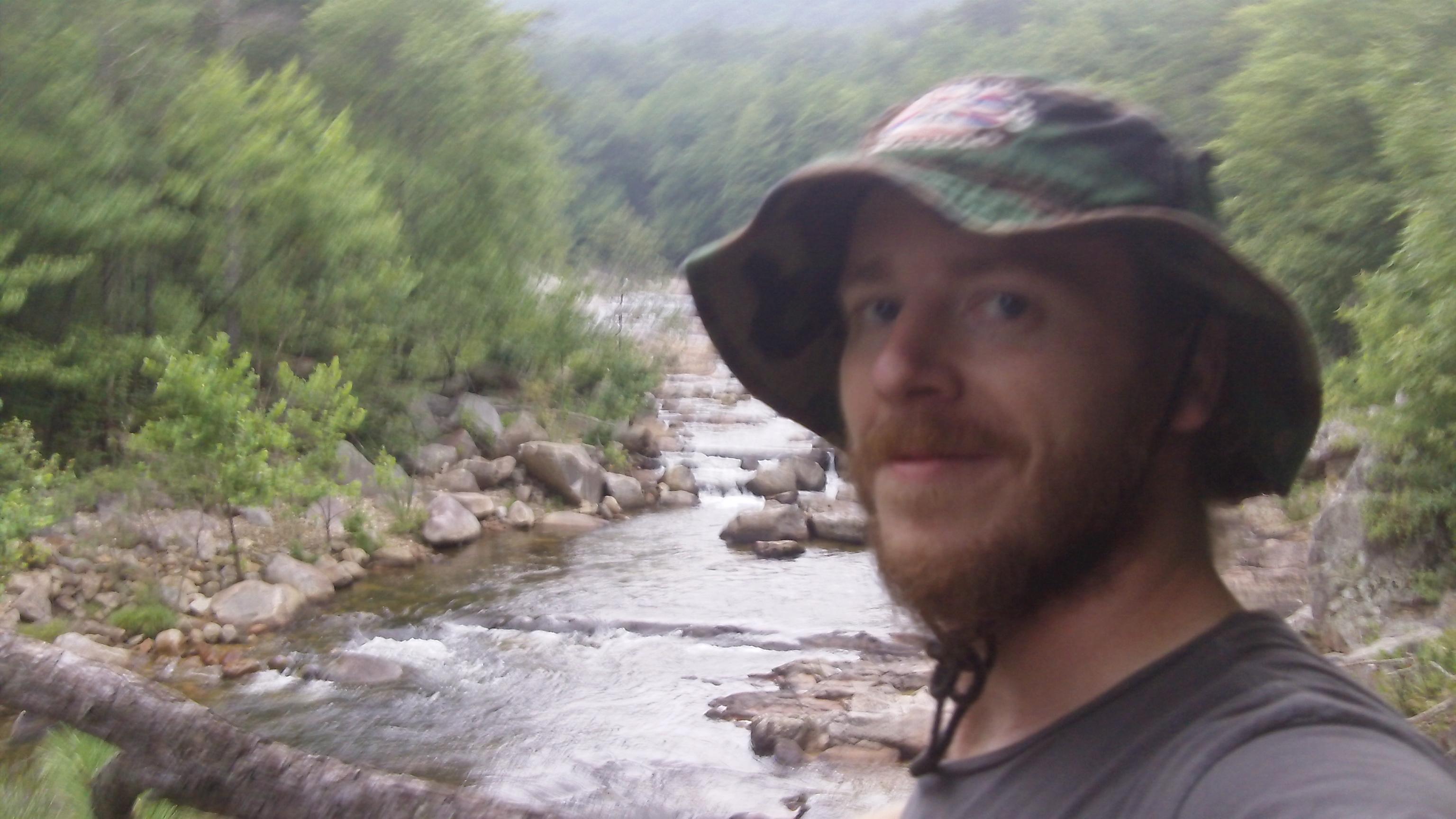 Luke at Wilson Creek, N.C.