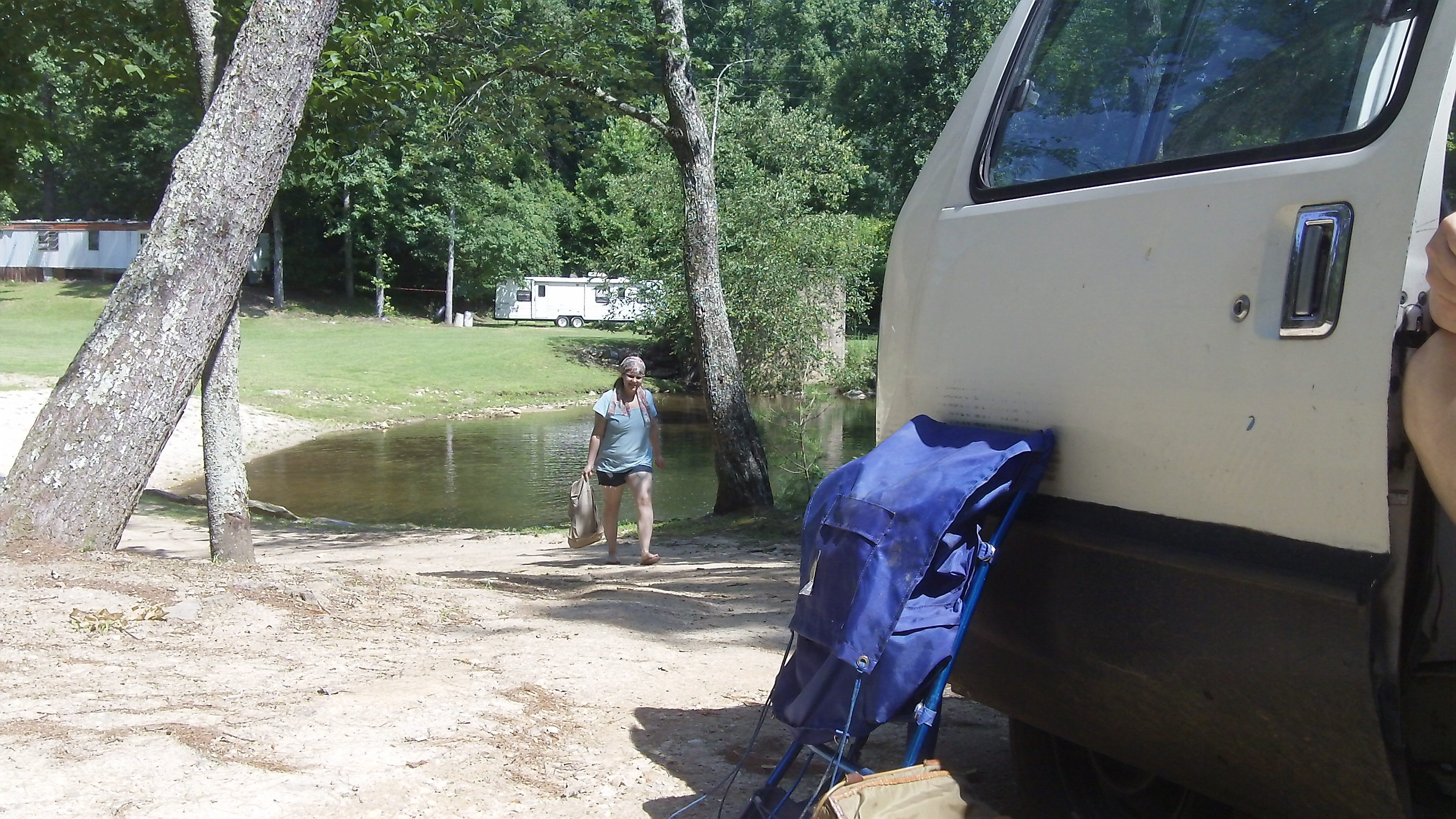 First camp site...