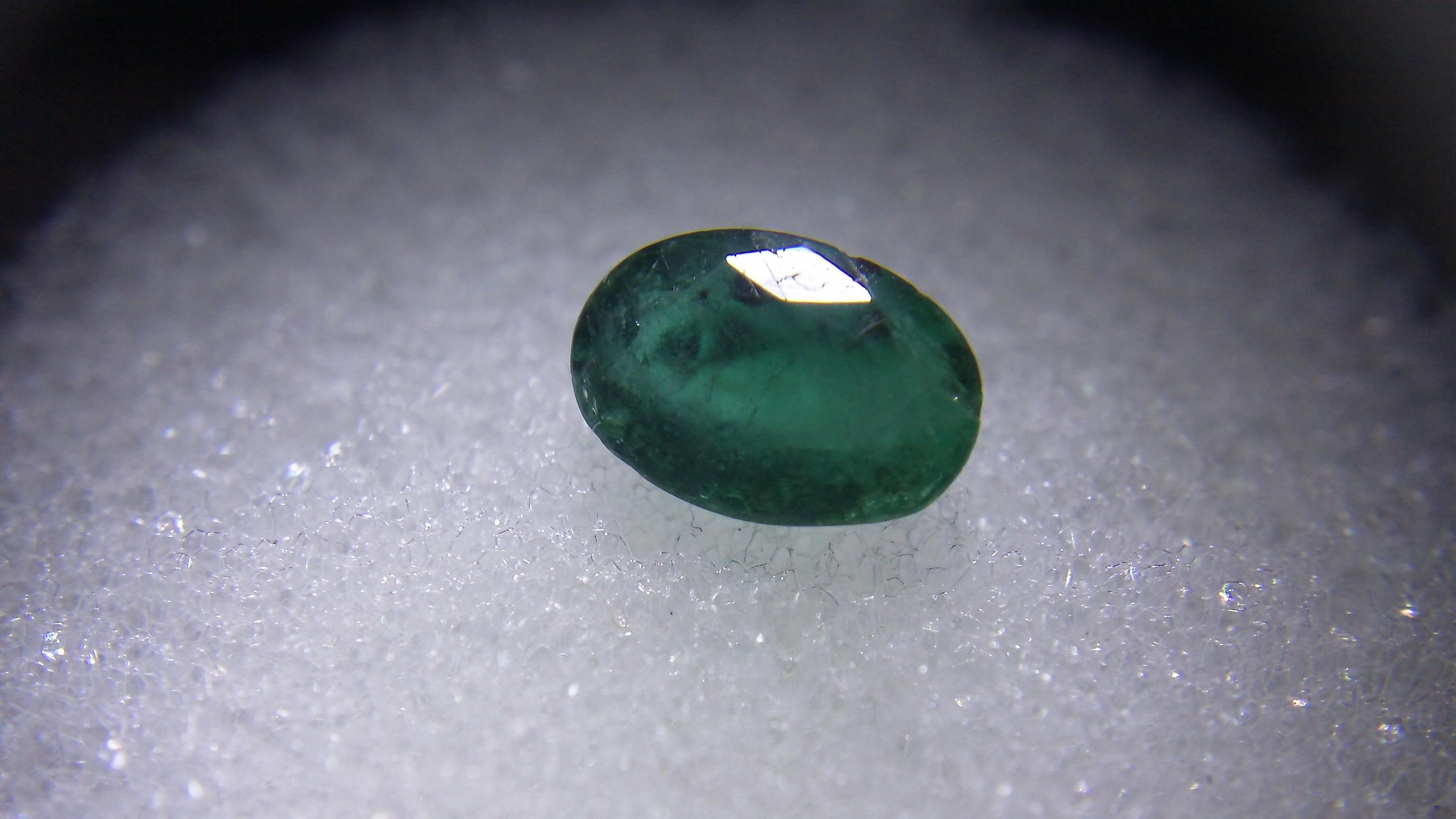 N.C. Emerald .65 ct. 7x5mm Oval Cut