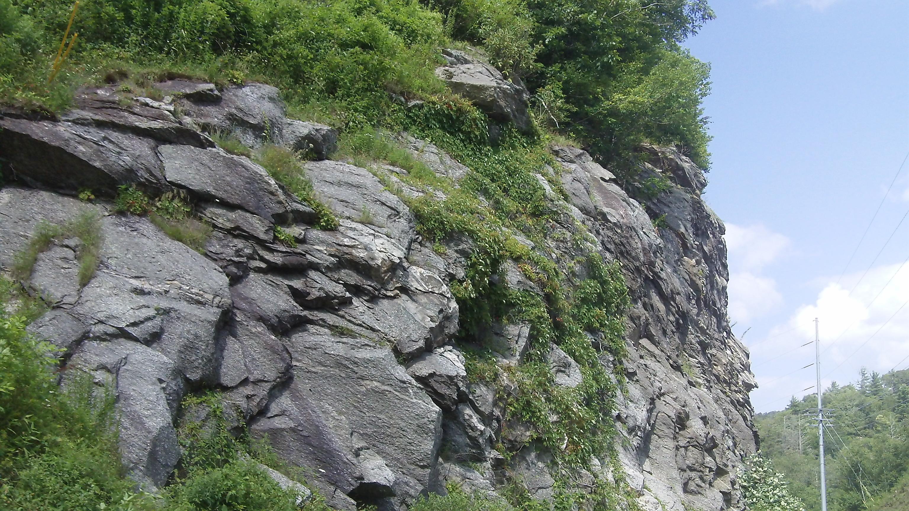 Rock Formation in N.C.