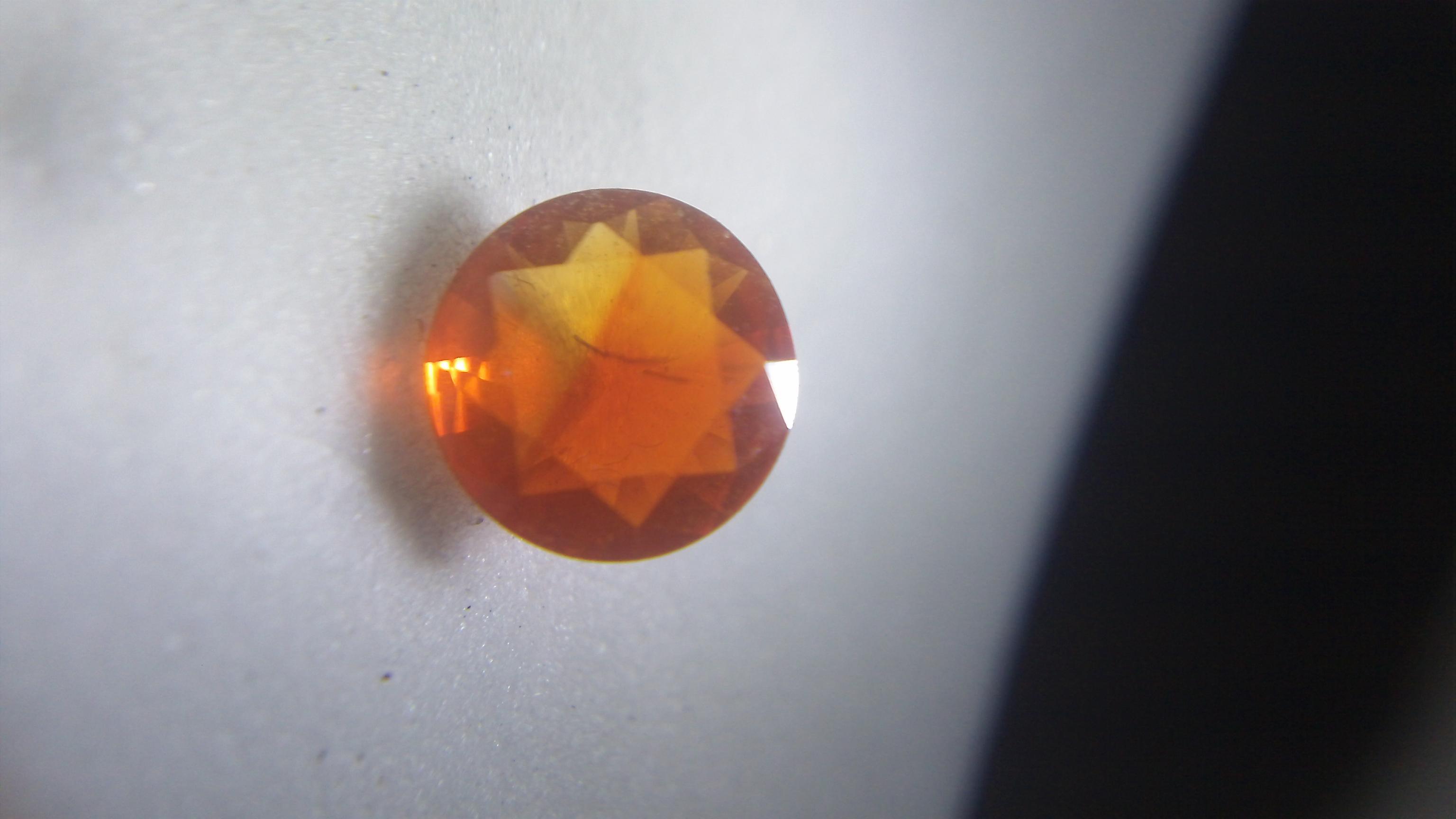 Bi-Color Mexican Fire Opal