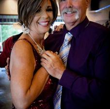 PJ and her husband, Kris