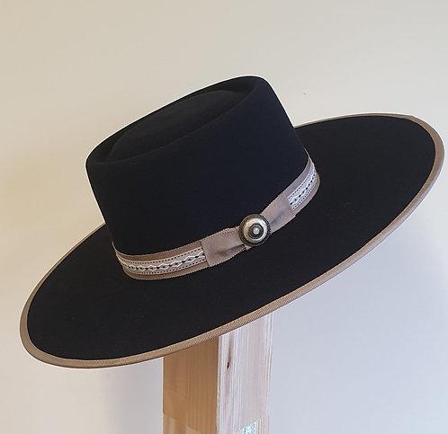 10 X Fur Felt - Vaquero Black