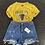Thumbnail: Casual Rise Ripped Jean Shorts
