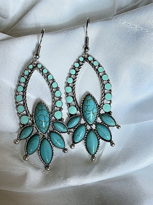 Turquoise Santa Barbara Earrings