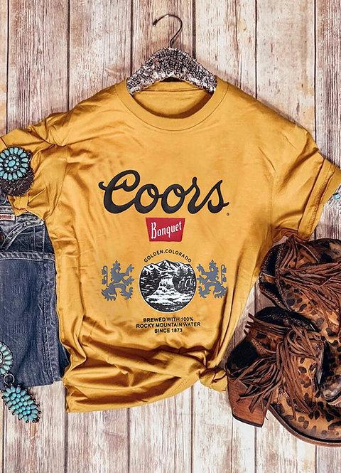 Coors Banquet Beer Vintage