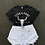 Thumbnail: High Waisted Ripped Fringed Shorts