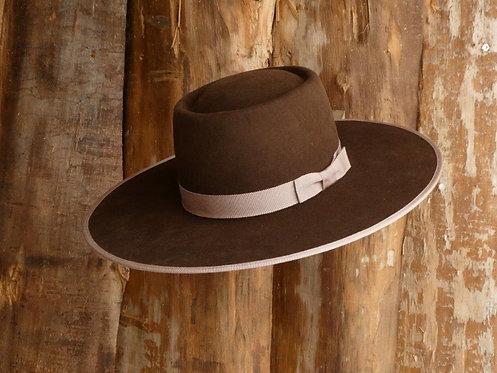 10 X Fur Felt- Vaquero Brownie