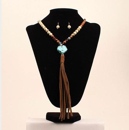 Necklace Set - Turquoise Stone