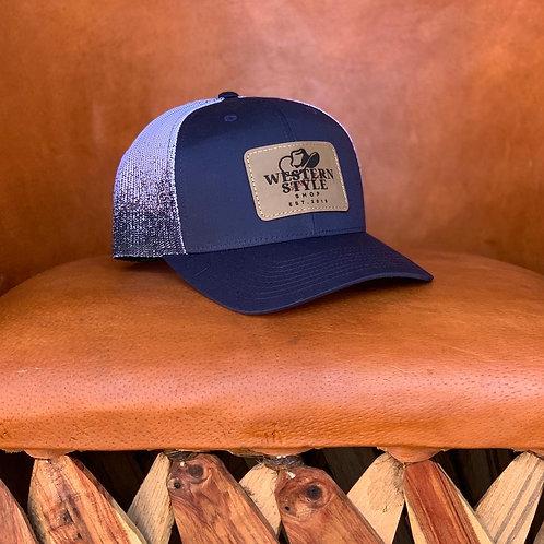 Westernstyle Cap - Blue