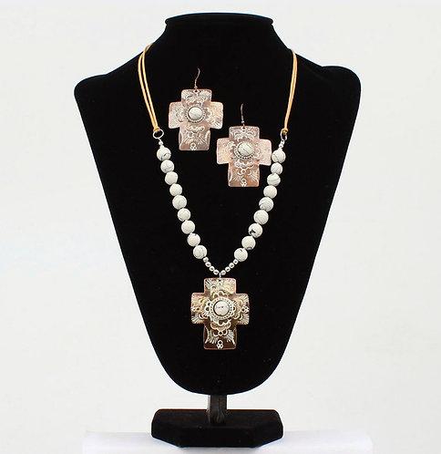 Necklace Set - Cross