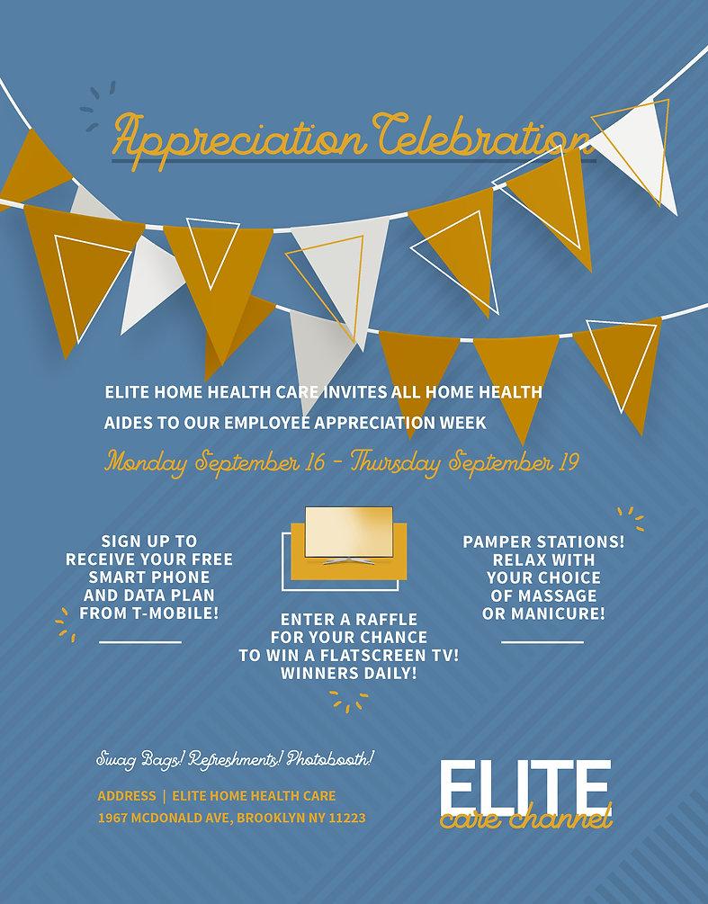 Elite Care Channel Flyer - Appreciation