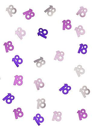Confettis âge rose et gris 14 g