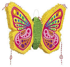 Pinata papillon à remplir 49 x 60 cm