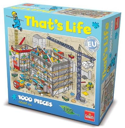 """Puzzle """"vie de chantier"""" 1000 pièces"""