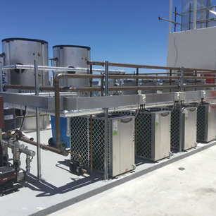 Crest Apartments - Hot Water Plant