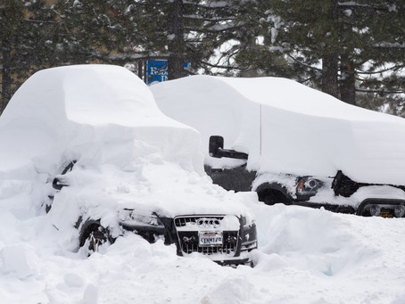 The Snowiest February On Record