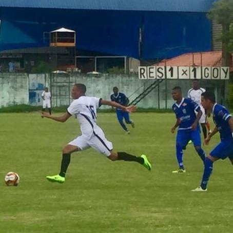 Alvinegro do Sul e Alvianil do Norte Fluminense empatam no Trabalhador
