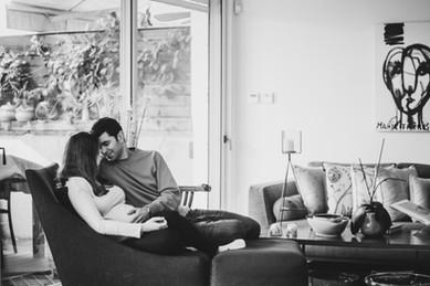 Maternity couples portrait