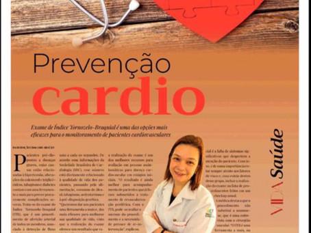 Prevenção Cardio: Exame de ITB (Índice Tornozelo-Braquial)