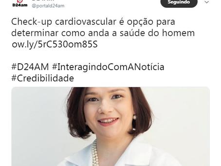 Check-up cardiovascular é opção para determinar como anda a saúde do homem