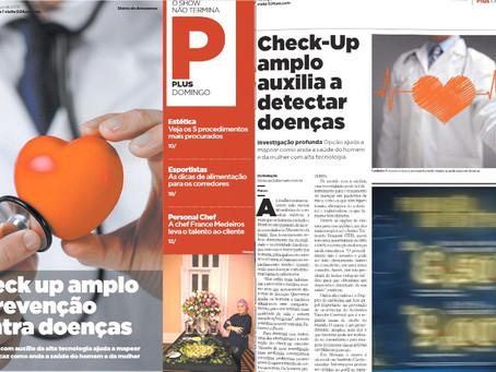 Check-Up amplo auxilia a detectar doenças.