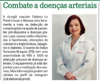 Combate a doenças Arteriais