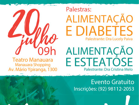 Evento gratuito discute saúde de pacientes com diabetes e gordura no fígado.