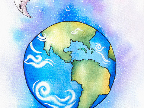 Earth Watercolor