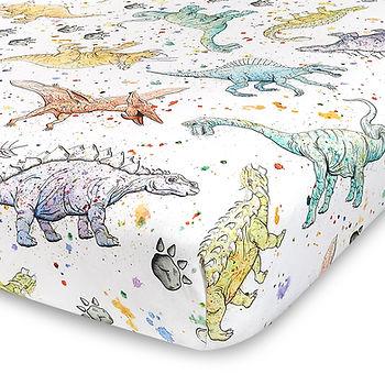 Dinosaur Crib Sheet