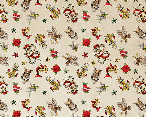 Sailor Jerry Tattoo Changing Pad Cover