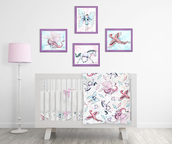 Fantasy Nursery Set