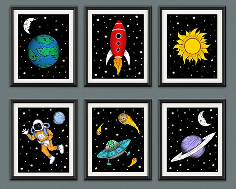 Outer Space Print Collection