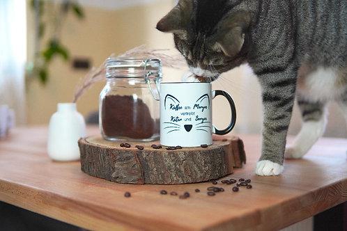 """Kaffee am Morgen..."" Tasse Kitty"