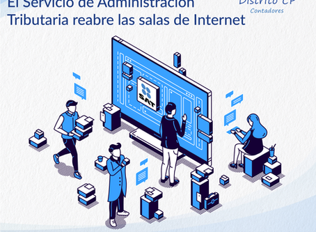 El Servicio de Administración Tributaria reabre las salas de Internet