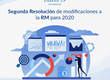 Segunda Resolución de modificaciones a la Miscelánea Fiscal para 2020
