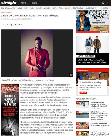 Jason Derulo embraces honesty on new mixtape