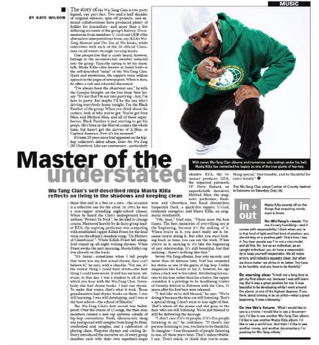 Wu-Tang Clan's Masta Killa reflects on 25 years of success